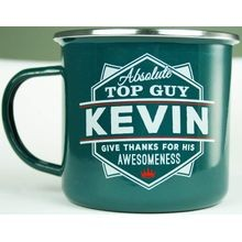 Top Guys Carbon Steel Multicolor Kevin Coffee Mug/Cup