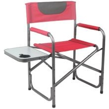 Prwf Dch002 Director Chair With Side Table, 13.976 In H X 34.252 In W X 20.866 In D