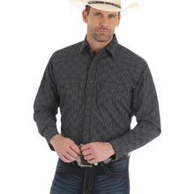 Men's Silver Edition Striped Western Shirt