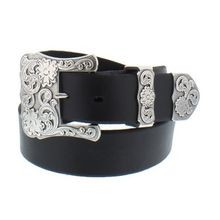 Ladies' Belt With 3-Pc Buckle