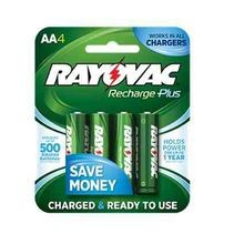 Recharge Plus AA 4 Pack