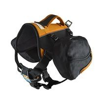 Black & Orange Big Baxter Dog Backpack