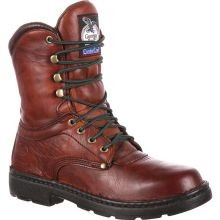 Mens 8 Inch Eagle Light Lace-Up Work Boot