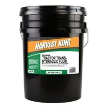 Premium Tractor Trans-Hydraulic Fluid, 5 Gallons