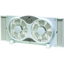 Twin Window Fan - 9