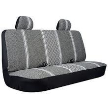 Gray Diamond Back Large Bench Truck Seat Cover