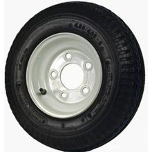 Dm408b 5i Tire Bias, 480 8, 8 X 3 3/4 In Rim, 590 Lb, 60 Psi, Steel Wheel