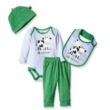 Infant Boys' 4 Piece Cow Gift Set