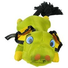 Flying Pig Dog Toy, Green