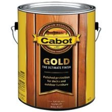 1 Gallon  Container Brown Wood Finish - Gold Finish