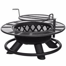 Ranch Lattice Fire Pit