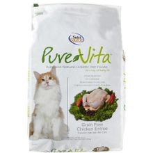 Pure Vita Grain Free Chicken Flavored Dry Cat Food - 15 lbs