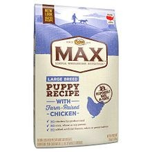 Max Large Breed Puppy Recipe with Farm-Raised Chicken Dry Food