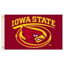 Iowa State Premium 2-Sided Flag
