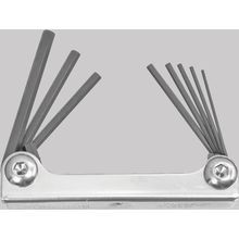 ProGuard™ Hex End Metal 9 Piece Fold Ups - 5/64