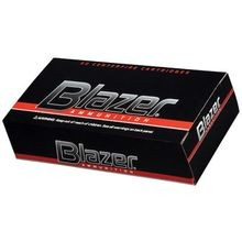 Blazer Handgun Ammunition 9mm FMJ 115 Grain
