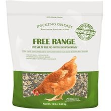 Free Range Treat with Boonworms - 10 lb