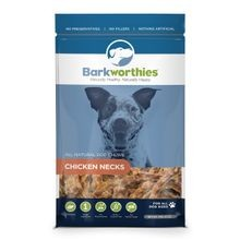 Barkworthies Chicken Necks Dog Treats 16 oz Bag