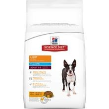 Adult Light Small Bites with Chicken Meal & Barley Dry Dog Food, 33 lb