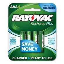 Platinum AAA Rechargeable Batteries