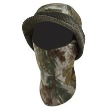 Men's Visored Knit Cap w/ Fleece Mask