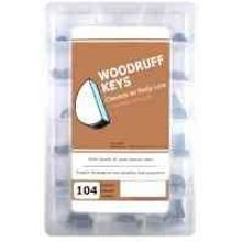 Woodruff Keys Large Project Kit