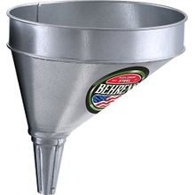 Offset Galvanized Steel Funnel with Screen