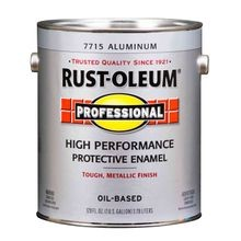 Professional High Performance Protective Enamel With Metallic Finish
