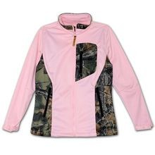 Ladies' Soft Shell Zip Jacket