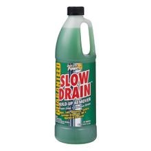 Slow Drain Build Up Remover, 33.8 oz