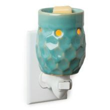 Pluggable Fragrance Warmer - Honeycomb Turquoise