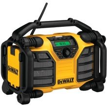 Dcr015 Worksite Charger Radio, 20 Vac, 2 A, 90 Min Or Less