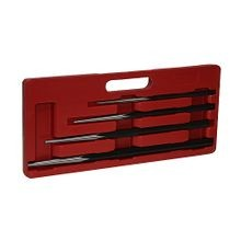 4-Piece Long Taper Punch Set