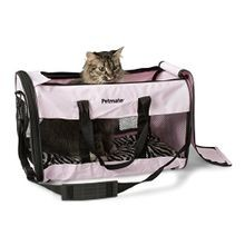 Black Petmate Soft-Sided Pet Taxi