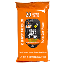 Field Wash Cloths 20 Ct