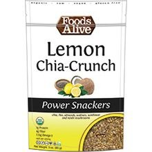 Organic Lemon Chia Power Snack 3 Oz