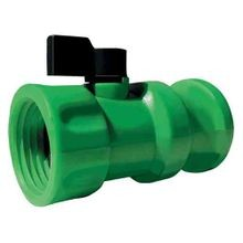 Gator Lock FGHT/Male Adapter Coupling With On/Off Valve