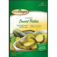 Quick Process Sweet Pickle Mix