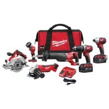 Cordless Lithium-Ion 6-Tool Combo Kit