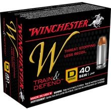 40 S& W 180 GR. W Train & Defend