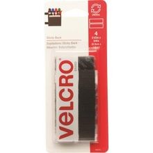 3.5 x 3/4 Inch Black Fastener Strip