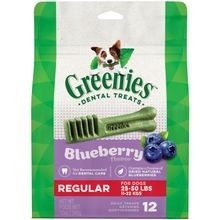 Blueberry Flavor Regular Size Dog Dental Treats