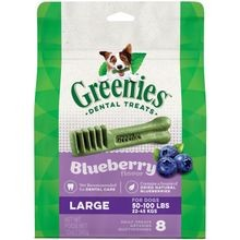 Blueberry Flavor Large Dog Dental Treats