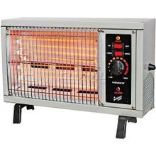 Radiant Electric Wire Element Box Heater White