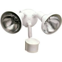 Security Floodlight with Lamp Covers and 180 Degree Motion Sensor - 300 Watt