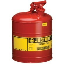 7150100 Type I Safety Can, 5 Gal, 11 3/4 In Dia X 16 7/8 In H, Self Venting, Steel