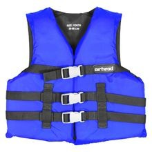 Youth General Purpose Open Side Universal Blue Life Vest