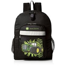 Little Boys' Tractor Burst Backpack, Black