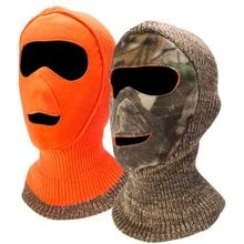 Men's Reversible Camo Face Mask
