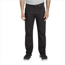 Men's FLEX Regular Fit Straight Leg 5-Pocket Pant - Rinsed Black